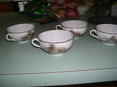 Chinesse/ Japanese Porcelain Cups- 4