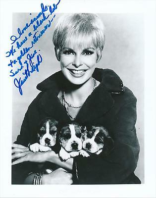 Janet Leigh- Glossy Signed Photograph