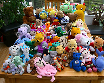 Job Lot of Over 60 Soft Cuddly Toys