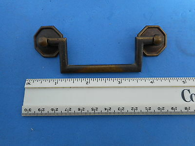 "Brass Drawer Dresser Pull Vintage Antique High Quality Cast Italian 2.5/"" Cnt"