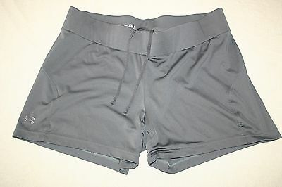 UNDER ARMOUR Women (MD/M) Athletic Fitness Yoga Running Shorts ~ EUC