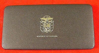 Panama 1978 9 Piece Proof Set Including 20 Balboa In Original Packaging