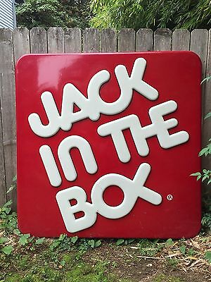 Original Jack In The Box Sign