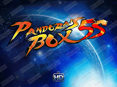New Pandora Box 800 in 1 Jamma Arcade Video Games Free Classic Fighting Game