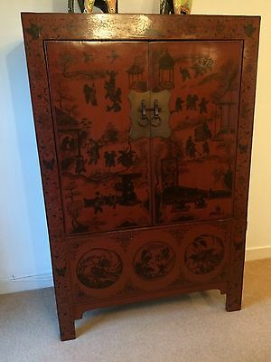 Beautiful Authentic Antique Chinese Cabinet Early 19th Century A Bargain!