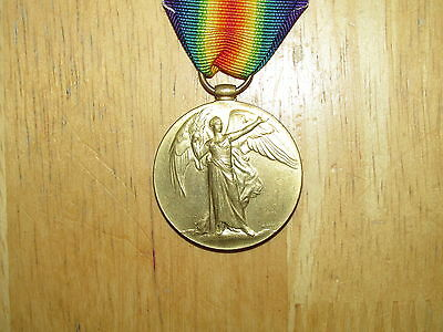 WW1 British Victory Medal named King's Own Yorkshire Light Infantry