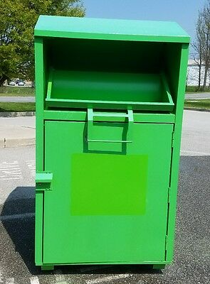 Donation bin/box Make $$$ today! Recycle charity clothes books dvds cds