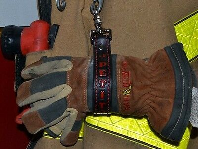 Firefighter Custom Leather Glove strap