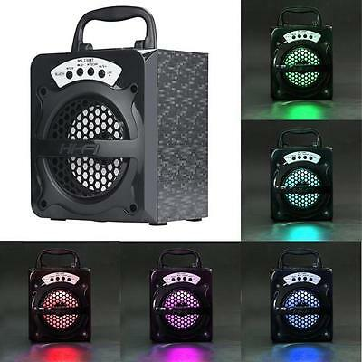 Outdoor Wireless Bluetooth Portable Speaker Super Bass with USB/TF/AUX/FM Radio