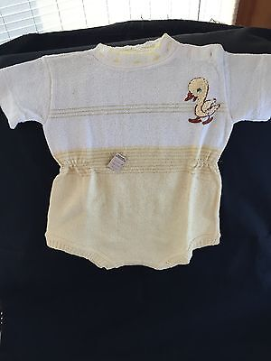 Vintage Baby Boy Clothes from 1950's