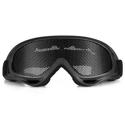 Safety Protect Anti-Fog Airsoft Metal Tactical Mesh Goggles Eye Glasses