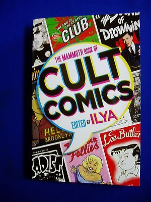 Mammoth Book of Cult Comics: Alternative, underground, small press. 1st.