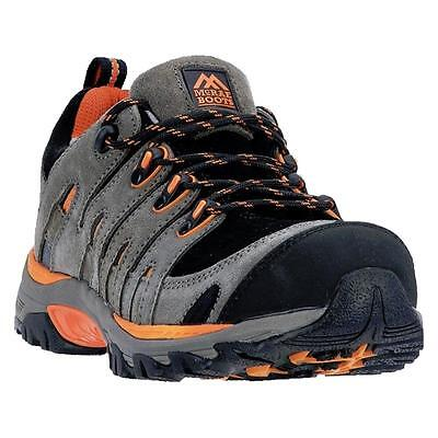 WIDE McRae Industrial Men's Steel Toe Safety Shoes Work Athletic Hiking MR84309