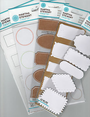 Martha Stewart LABELS & STICKERS~Several varieties to choose from! Fast Ship!