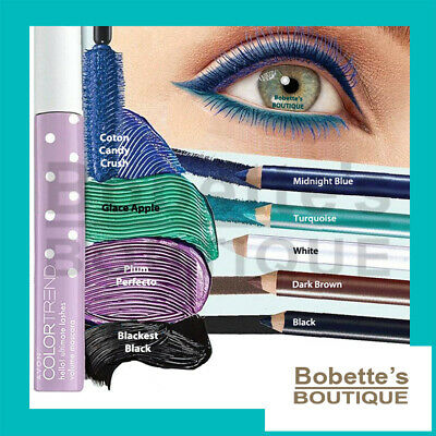 AVON COLOR TREND Collection HELLO : Mascara - Crayon Contour des Yeux au Choix !