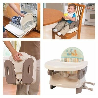 Toddler Feeding Booster Baby Eating Seat Food Tray Infant Table Folding Chair