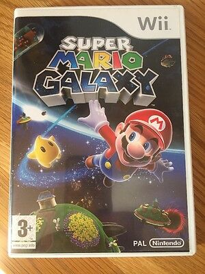 Nintendo Wii Game Super Mario Galaxy Complete