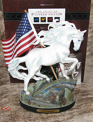 TRAIL PAINTED PONIES Unconquered 1E/1985~Strength in Adversity~American Spirit~