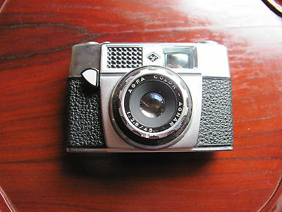 Vintage Agfa Agfamatic Camera with leather case