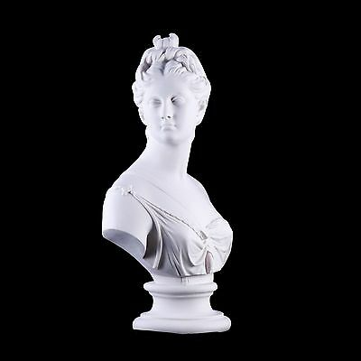 Stunning Marble Bust of Diana The Huntress Classical sculpture, Gift, Art,