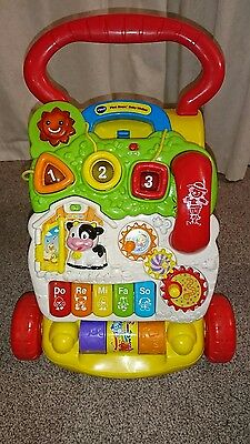 Vtech first steps baby walker with phone