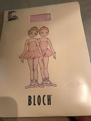 BLOCH Endura FOOTED Tights For Children  Style#T0921G Size CHS. NEW.