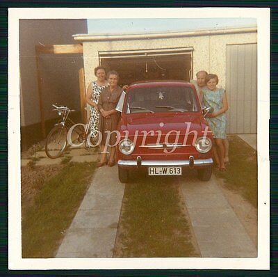 Foto Fiat 850 Kleinwagen Oldtimer CAR Photo