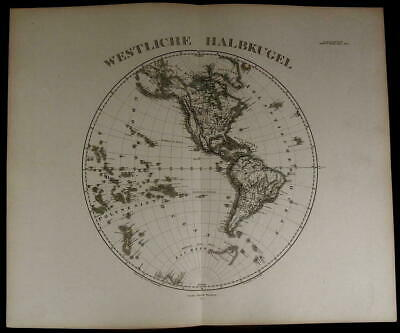Western Hemisphere Americas Polynesia New Zealand 1873 fine old detailed map