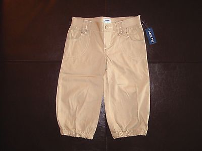 NWT Old Navy Girls' Cropped/Capri Pants Size 4T