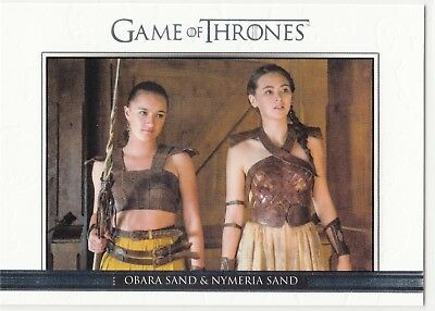 Game of Thrones Season 6 Relationships #34 Obara Sand & Nymeria Sand