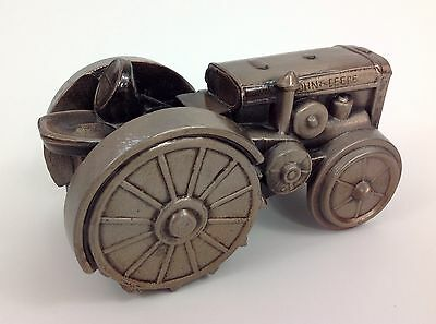John Deere Community Credit Union Cast Iron Collectable Third Edition Model d