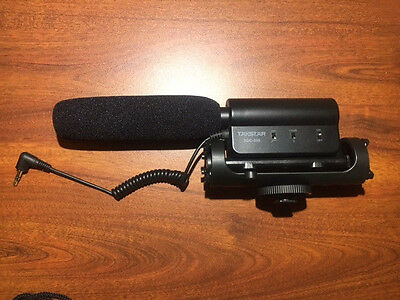 TAKSTAR SGC-598 Photography Interview Microphone Nikon/Canon-Very Good Condition