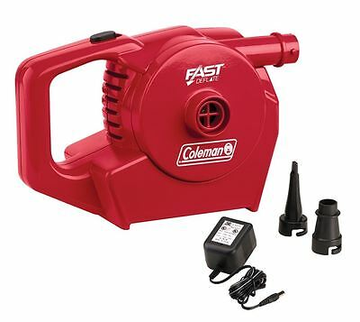 Coleman Quickpump Rechargeable 12V + 240V Air Bed Pump