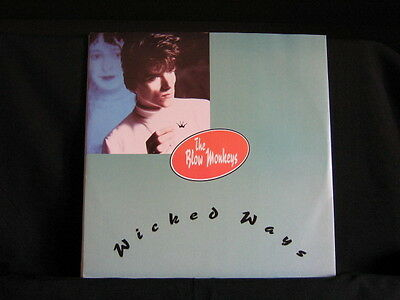 "The Blow Monkeys. Wicked Ways. 45 rpm 12"" Record. 1986. Australian Pressing"