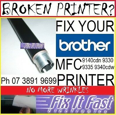 Brother MFC9330cdw mfc9340cdw Upper fuser Roller fix Wrinkling Creasing emboss