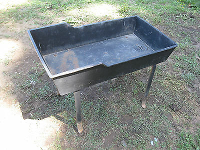 Antique Free Standing Cast Iron Sink  Amazing Piece!!