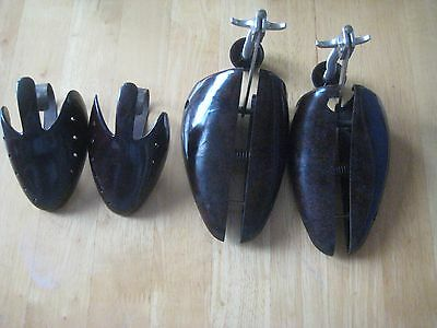Bakelite shoe trees 2 pairs