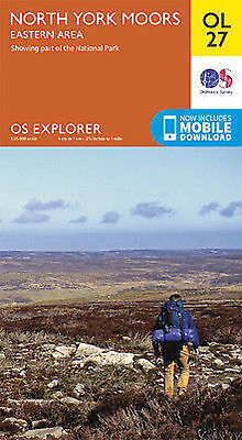 OL27 North Yorkshire Moors Eastern Area  Ordnance Survey Explorer Map OL 27