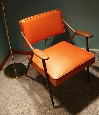 Viko Baumritter original adjustable backrest lounge chair Mid century Modern
