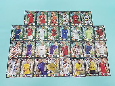 Panini Adrenalyn XL Road to 2018 World Cup Russia Set. 3 30 x Limited Edition
