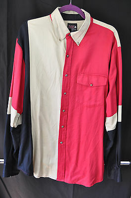 Men's AEO Rodeo long sleeve shirt cool metal buttons size L Large