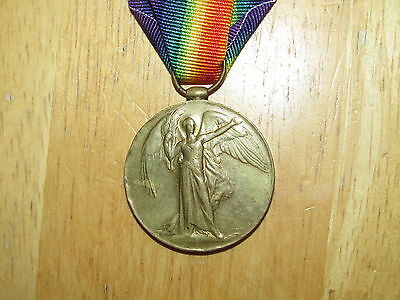 WW1 British Victory Medal named York and Lancaster Regiment