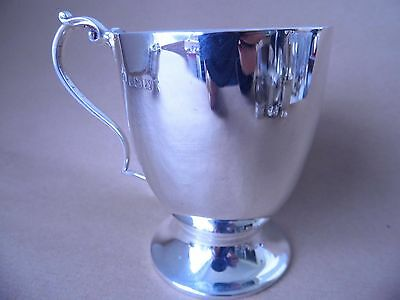 Nice Antique Sterling Silver Christening Mug/ Cup 1922