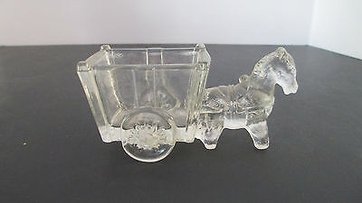 Vintage Donkey Cart Candy Container