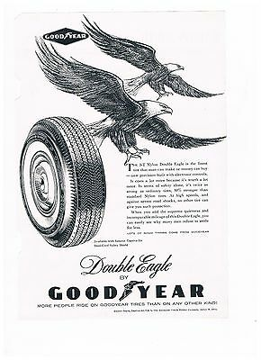 Vintage Good Year Double Eagle Tires (#537)