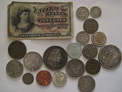 Mixed U.S Currency Lot
