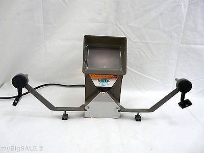 Vintage BAIA Reviewer Mark II 8MM Live Action Movie Editor Lights Working Order