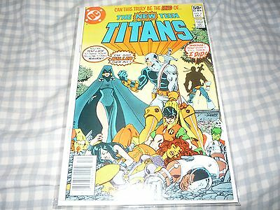 The New Teen Titans #2 Vf 8.0 1St Deathstroke Appearance