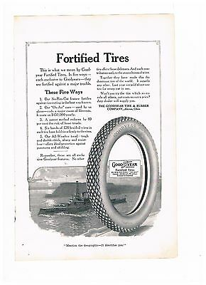 Vintage Advertisement Good Year Tires - Fortified Tires  (#500)