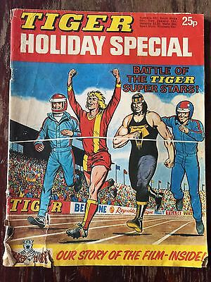 Tiger Holiday Special 1975, featuring Roy of the Rovers